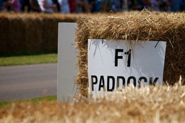 F1 Paddock GoodWood