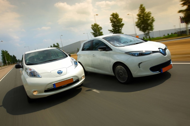 Renault Zoe & Leaf