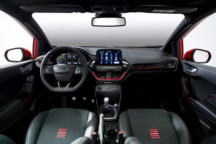 Inside the new Ford Fiesta